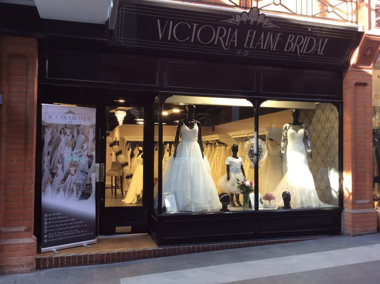 Victoria Elaine Bridal wedding shop