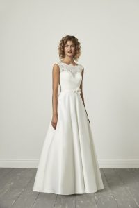 clover full length bridal gown