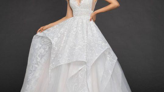 Markle bridal gown