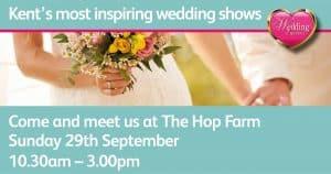 autumn wedding fair at the hop farm