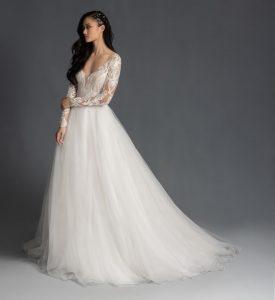 Mulan bridal gown