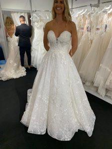 weddig dress by Eddy K