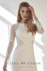 eliza and ethan are stocked at Victoria Elaine Bridal