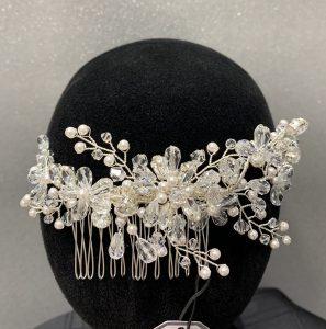 bridal hair accessory, wedding dress shop maidtone, victoria elaine bridal maidstone