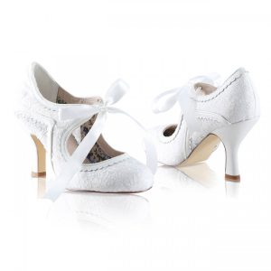 wedding shoes at victoria elaine bridal