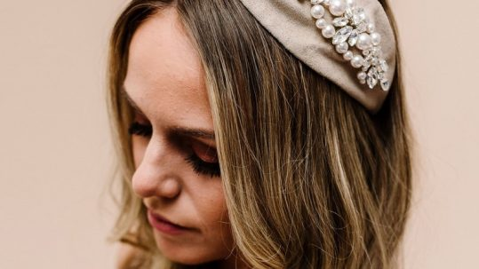 Rosalie bridal hair accessory