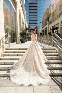 sky collection by eddy  at victoria elaine bridal