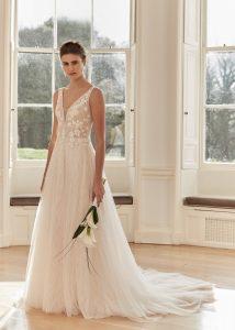 wedding dress availale at victoria elaine bridal