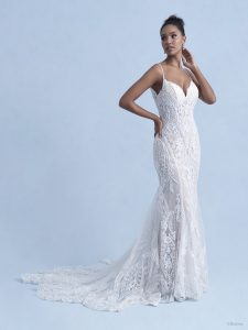 lace wedding dress, fitted wedding dress